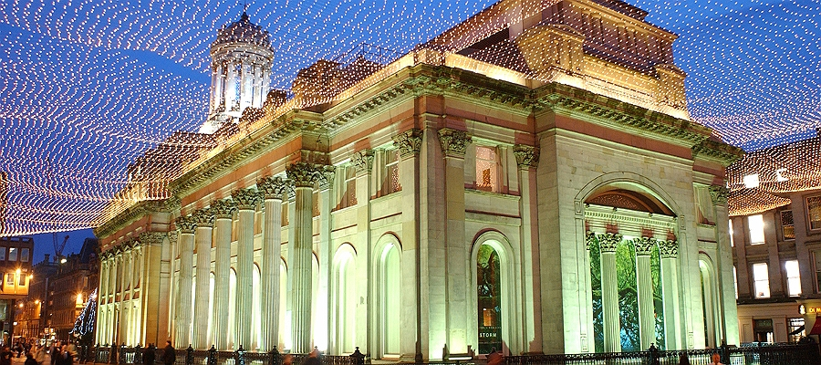 GOMA at night